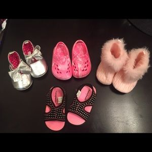 Other - Bundle of NWOT Baby Girl Shoes